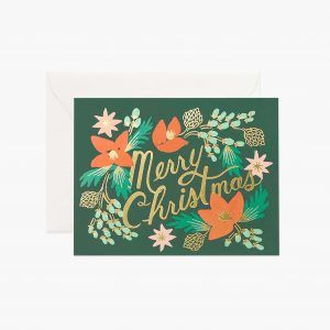 "Rifle Paper Co. ""Wintergreen"" Christmas Card"