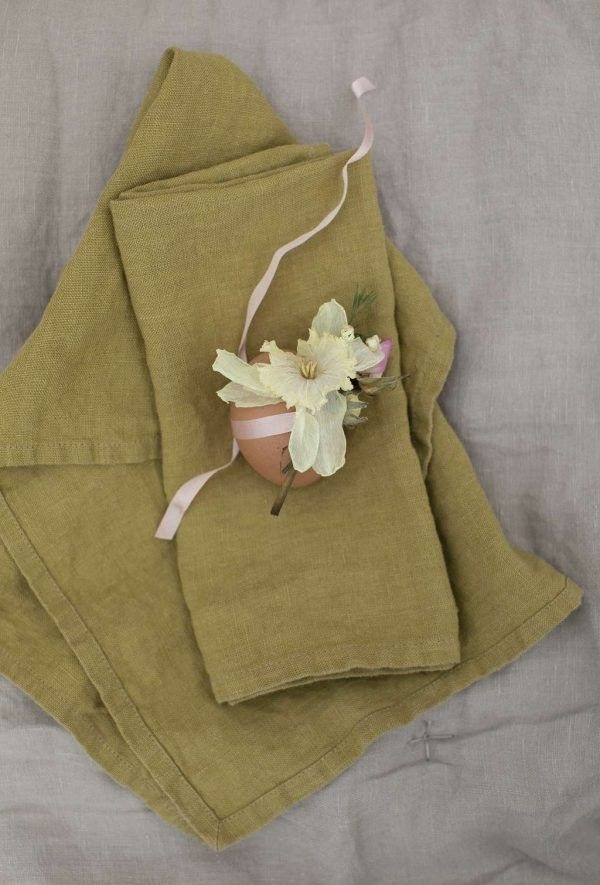 Mustard Linen Napkin