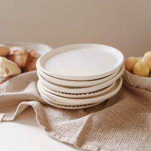 Natural Waffle Linen Towel