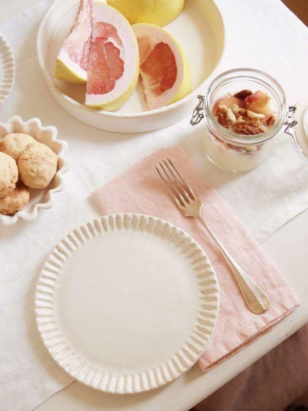Peach Linen Napkin