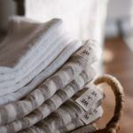 Striped Linen Towel