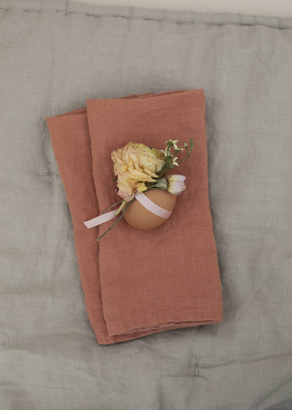 Terracotta Linen Napkin