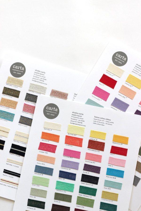 Studio Carta Ribbon Samples