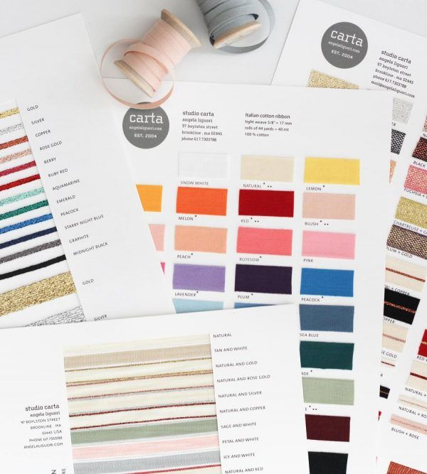 Studio Carta Ribbon Samples