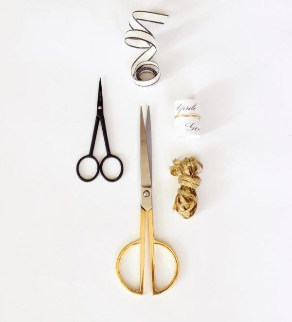 Studio Carta Paper Scissors - Gold