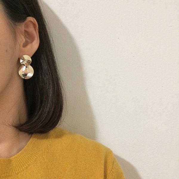 Lune Dorée Gold Earrings