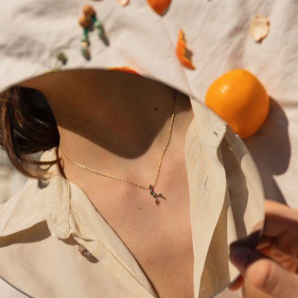 Petit Corail Gold Necklace