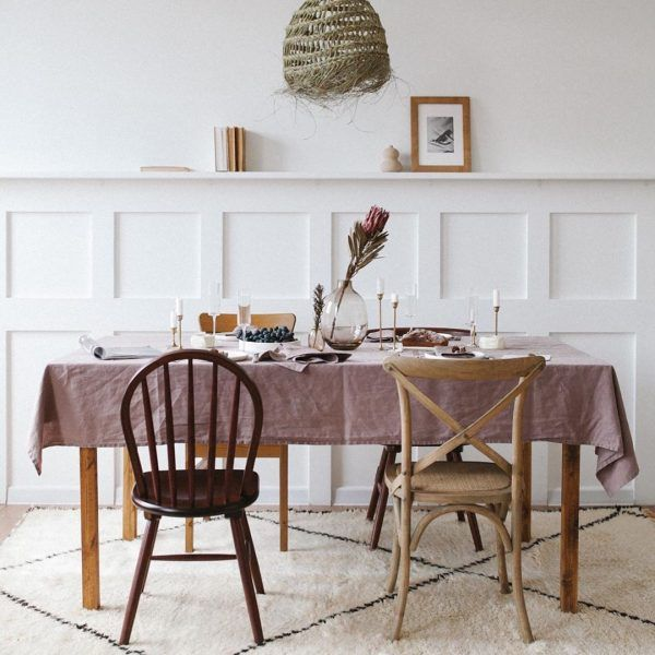 Fig Linen Tablecloth
