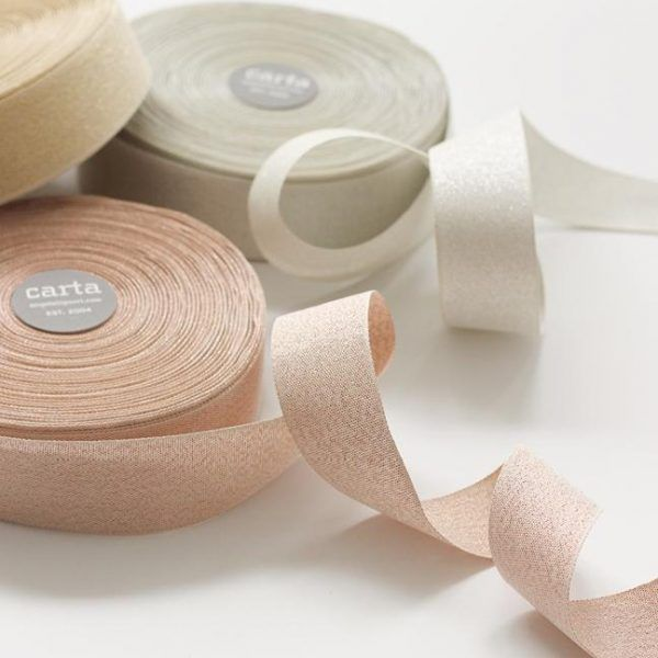Studio Carta Metallic Woven Ribbon