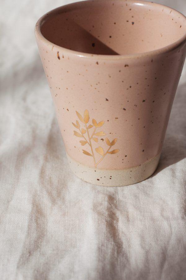 Marinski Handmade Ceramic Cup - Blush