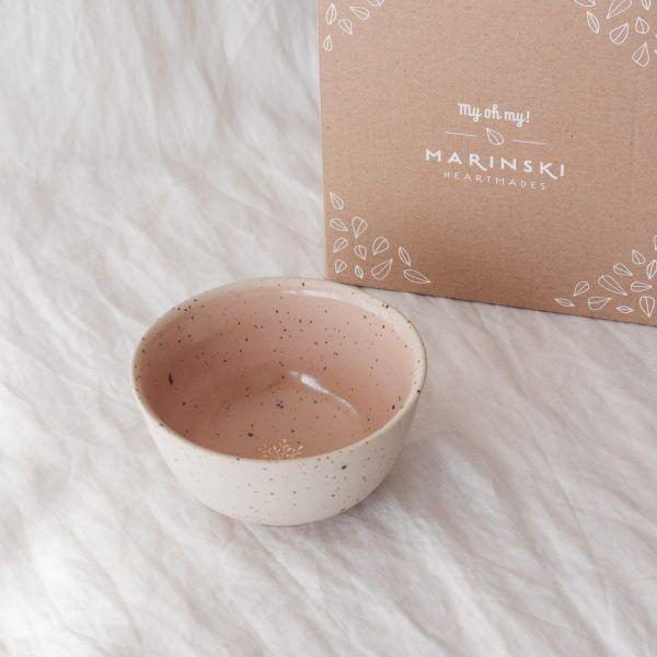 Marinski Handmade Ceramic Bowl - Blush