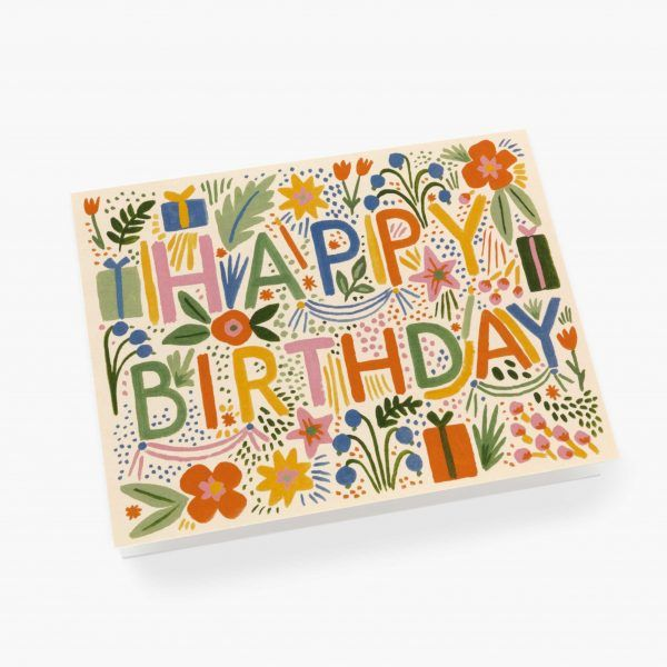 "Rifle Paper Co. ""Fiesta Birthday"" Greeting Card"