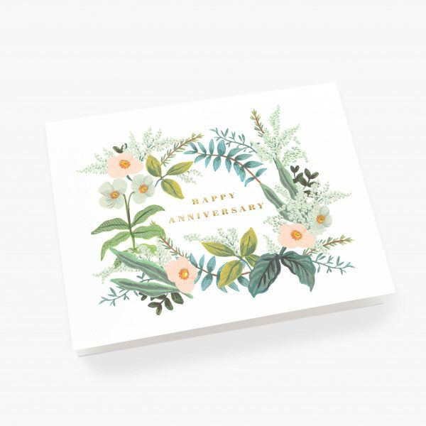 "Rifle Paper Co. ""Anniversary Bouquet"" Greeting Card"