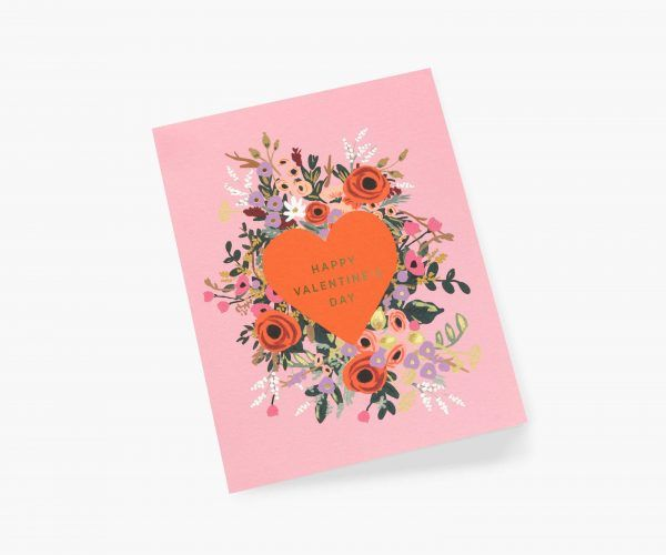 "Rifle Paper Co. ""Blooming Heart"" Valentine's Day Card"