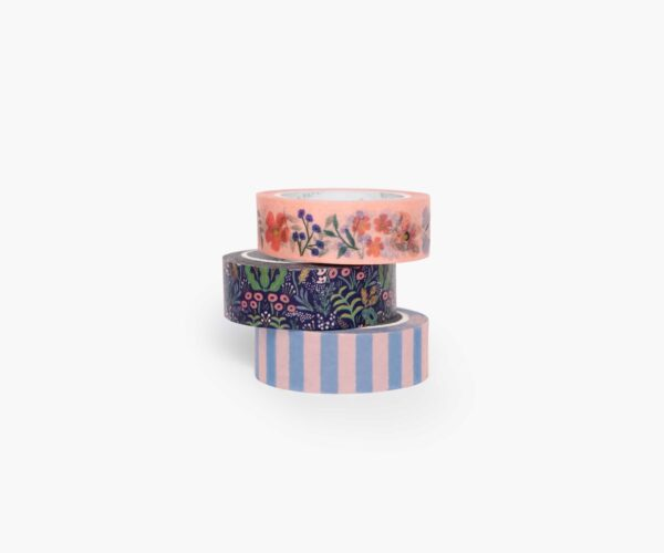 """Rifle Paper Co. """"Tapestry"""" Washi Tape Set of 3"""