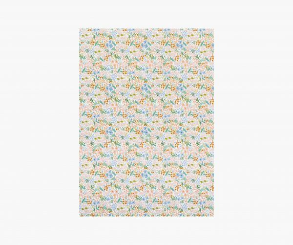 "Rifle Paper Co. ""Meadow Pastel"" Wrapping Paper Sheet"