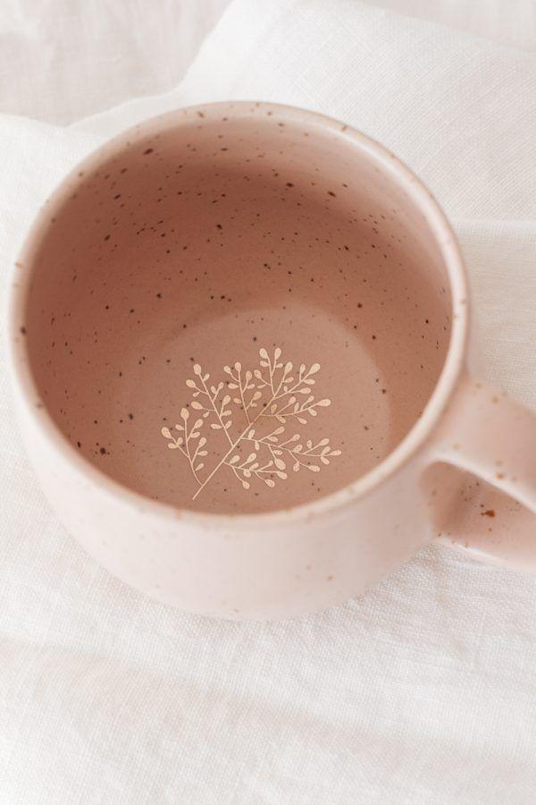 Marinski Handmade Ceramic Mug - Blush