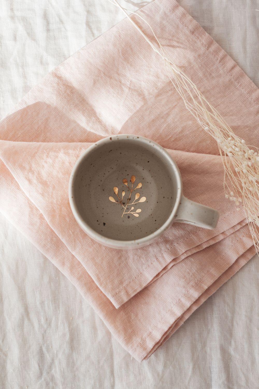Marinski Handmade Ceramic Mug - Cream