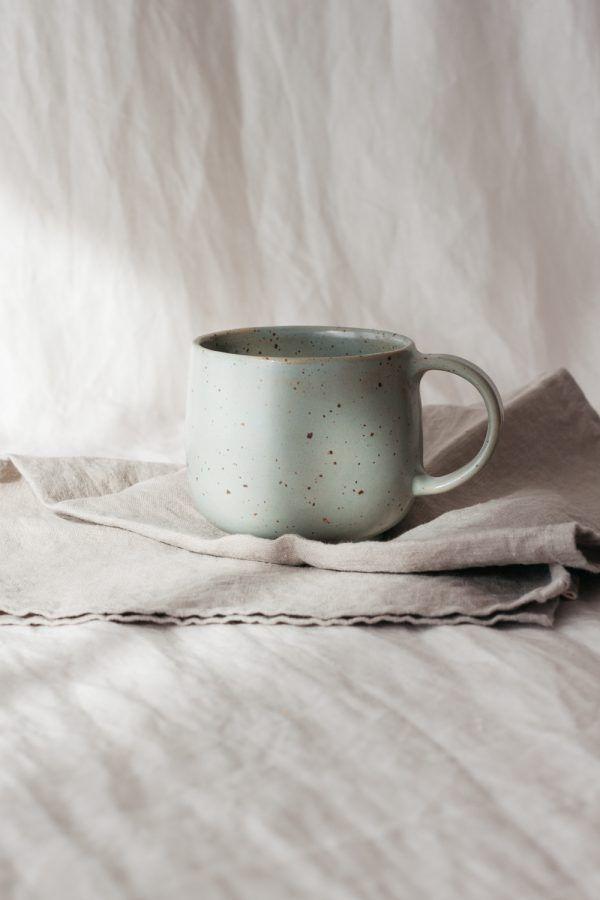 Marinski Handmade Ceramic Mug - Mint