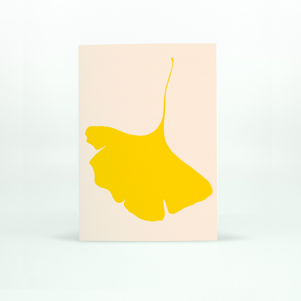 "Common Modern ""Ginkgo Pop"" Card - No.6"