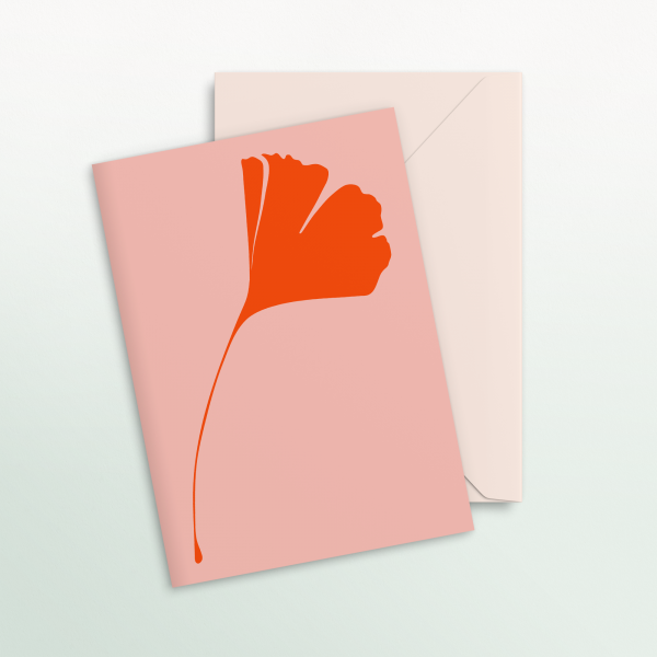 "Common Modern ""Ginkgo Pop"" Card - No.1"