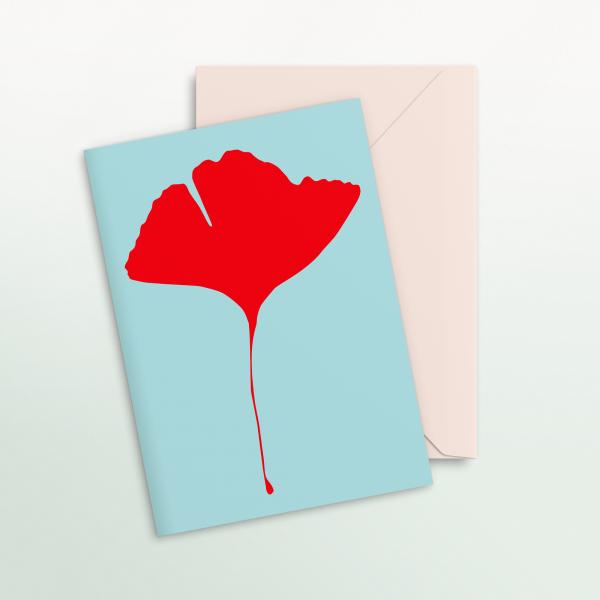 "Common Modern ""Ginkgo Pop"" Card - No.2"