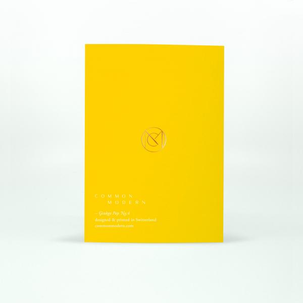 "Common Modern ""Ginkgo Pop"" Card - No.4"