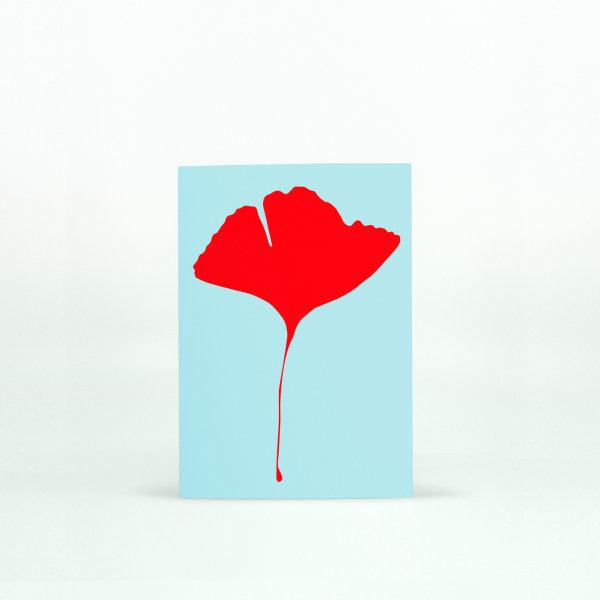 "Common Modern ""Ginkgo Pop"" Mini Card - No.2"