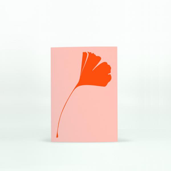 "Common Modern ""Ginkgo Pop"" Mini Card - No.1"