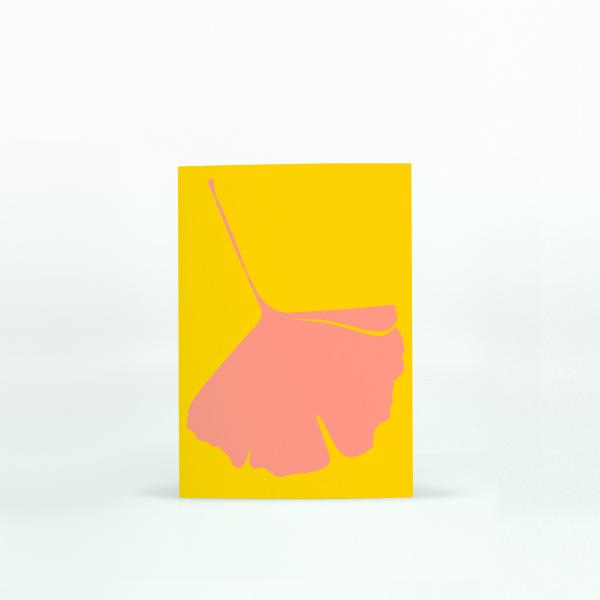 "Common Modern ""Ginkgo Pop"" Mini Card - No.4"
