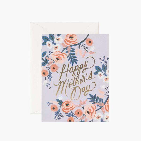 "Rifle Paper Co. ""Rosy Mother's Day"" Greeting Card"