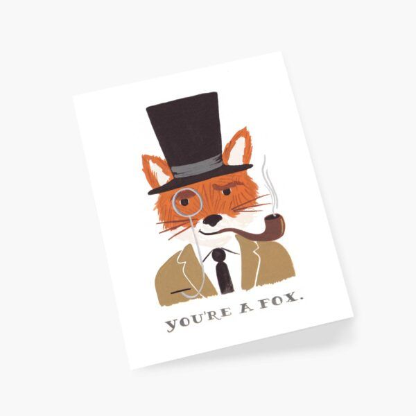 """Rifle Paper Co. """"You're A Fox"""" Greeting Card"""
