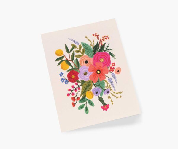 """Rifle Paper Co. """"Garden Party Blush"""" Greeting Card"""