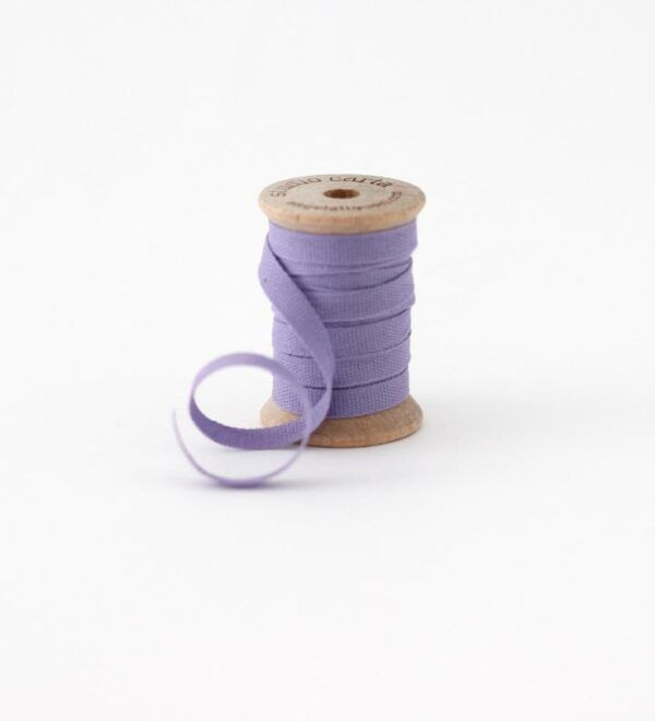 Studio Carta Wood Spool Cotton Ribbon - Lavender