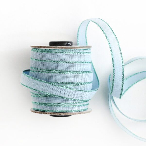 Studio Carta Drittofilo Cotton Ribbon - Sky & Aqua