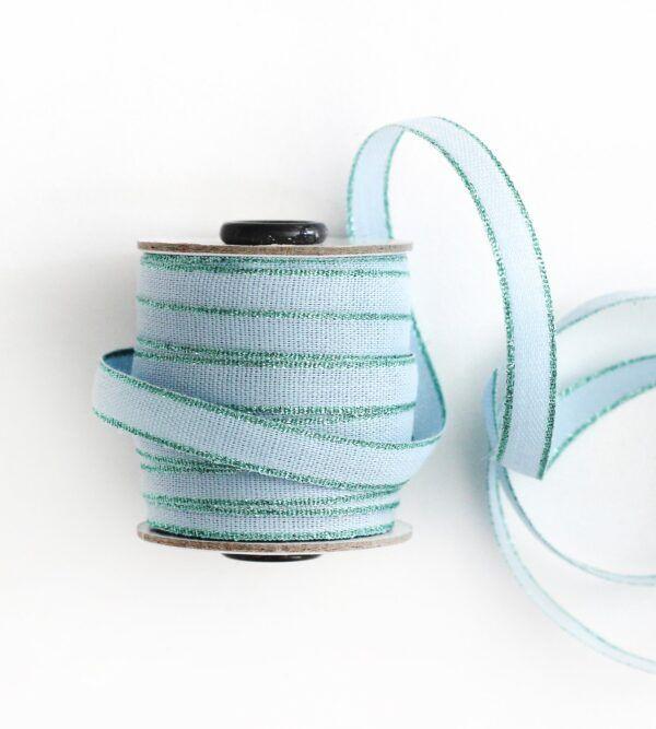 Studio Carta Drittofilo Cotton Ribbon - Sky & Aqua