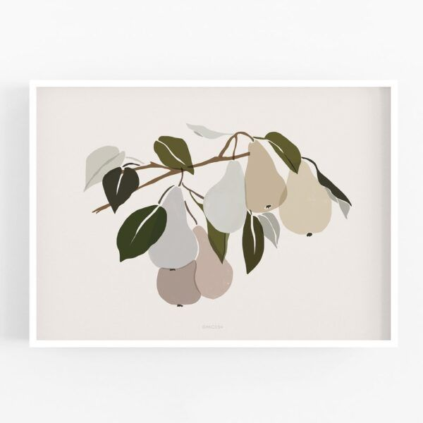 Harvest Pears Art Print