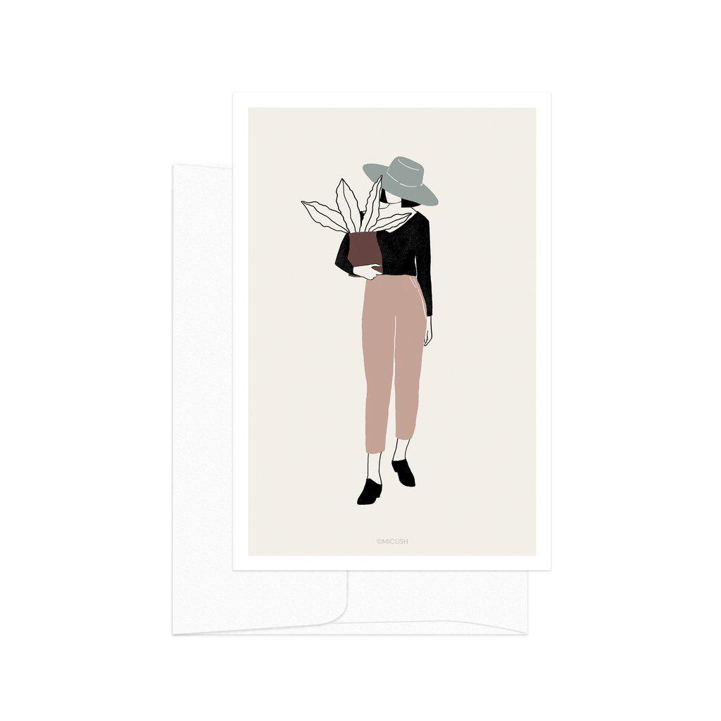 Plant Lady 02 Card