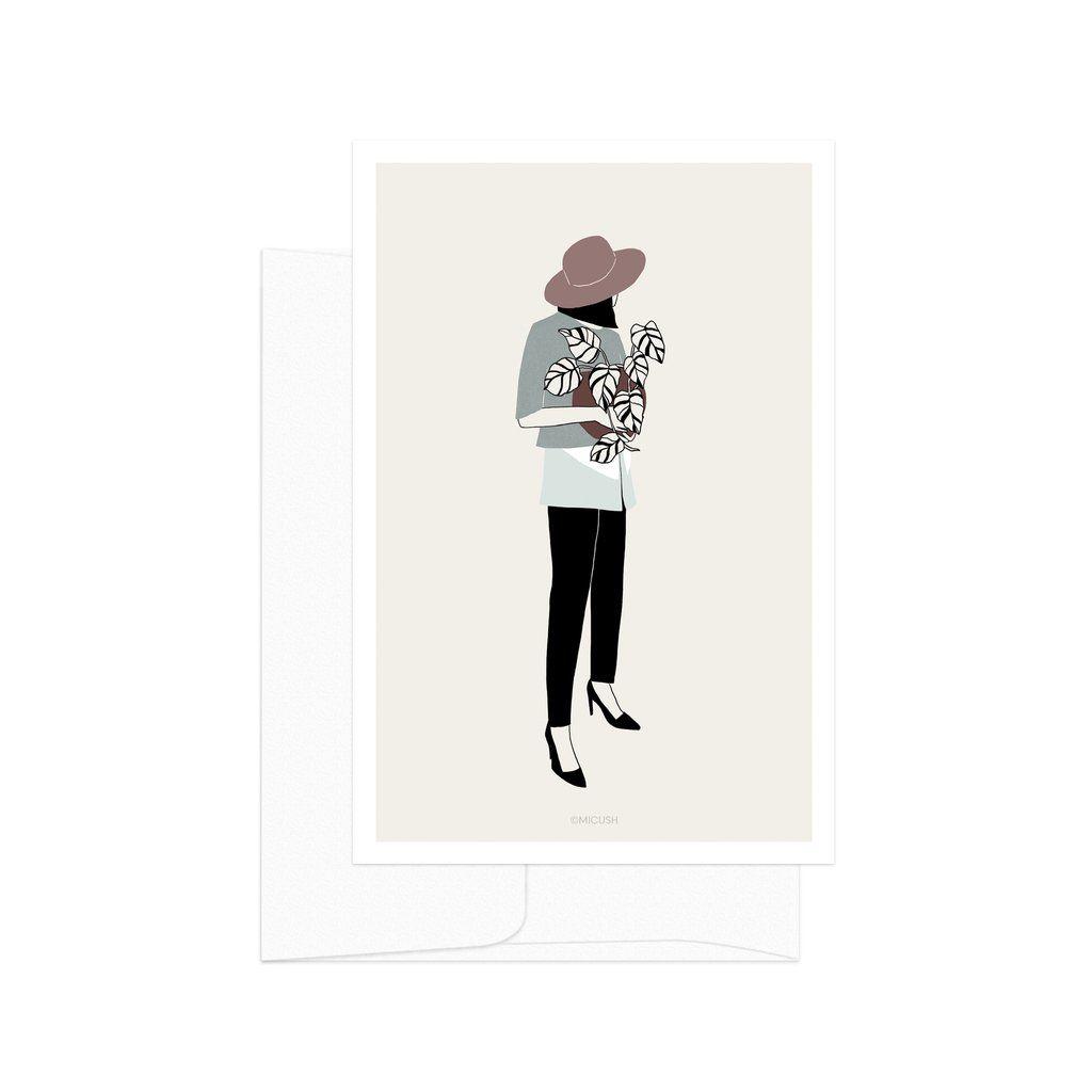 Plant Lady 03 Card