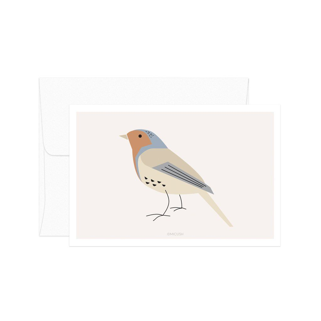 Robin Bird Card