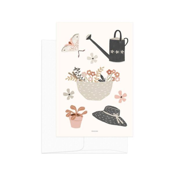 Country Life Gardening Card