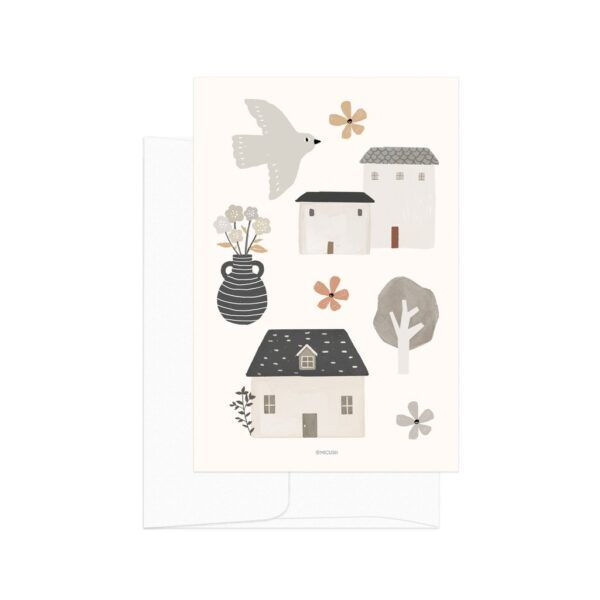 Country Life House Card