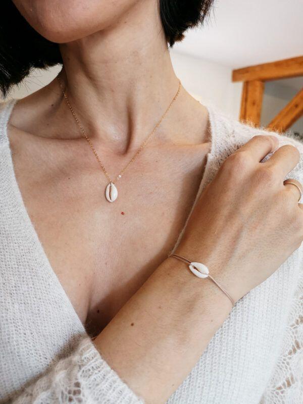 The Shella Necklace & bracelet