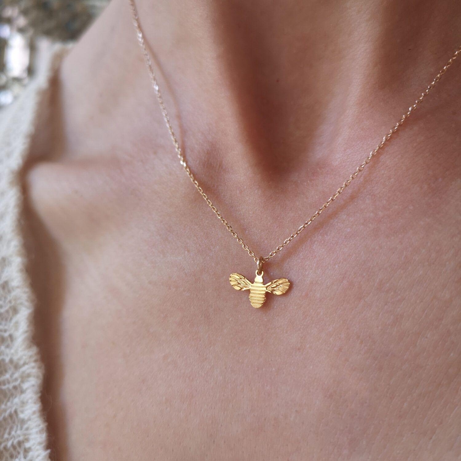 The Bee Necklace