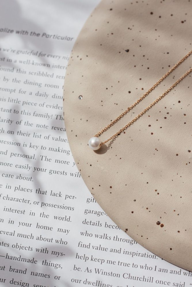 Valérie Pearl Necklace