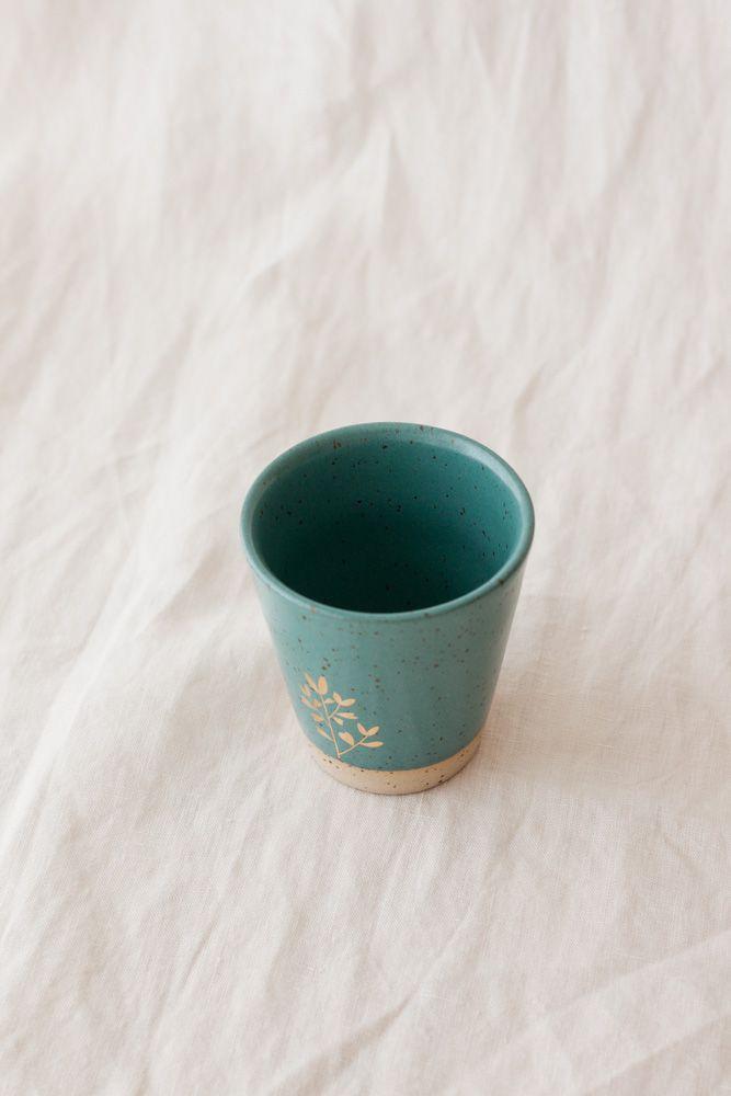 Marinski Handmade Ceramic Cup - Teal