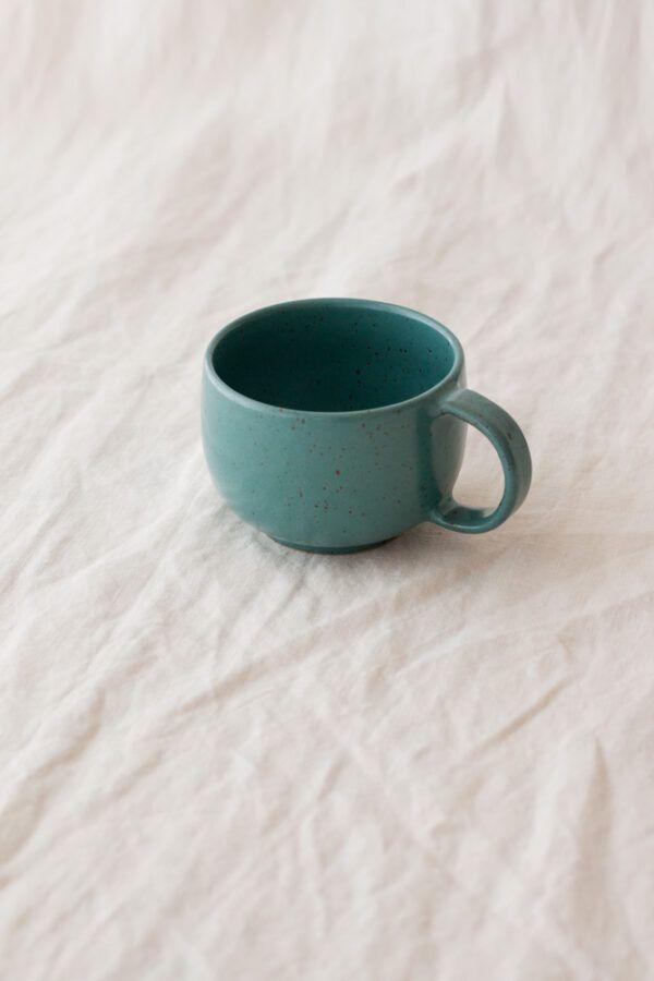 Marinski Handmade Ceramic Mug - Teal