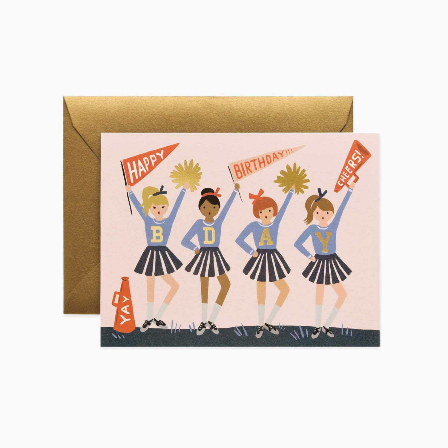 "Rifle Paper Co. ""Birthday Cheer"" Greeting Card"