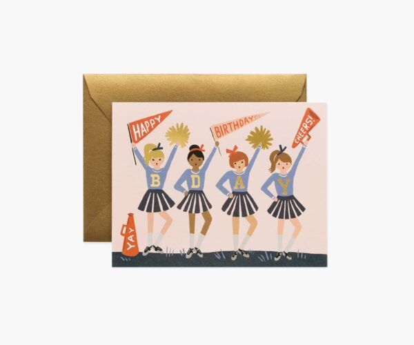 """Rifle Paper Co. """"Birthday Cheer"""" Greeting Card"""