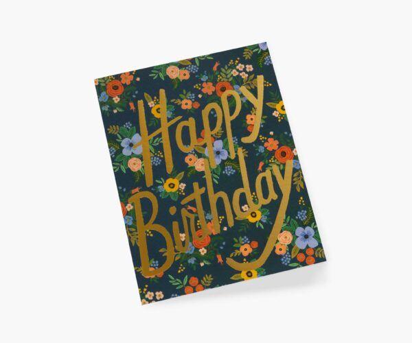 "Rifle Paper Co. ""Garden Birthday"" Greeting Card"